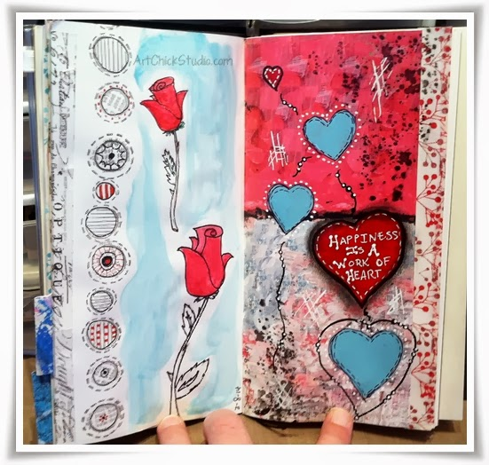 Work of Heart Art Journal