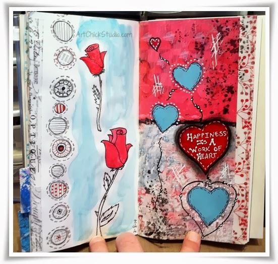 Work of Heart Art Journal