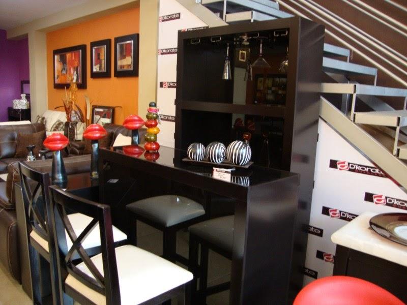 Contemporánea Muebles modernos para bar  cantina en el hogar