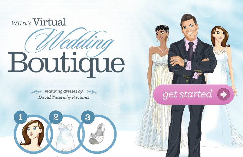 let david tutera of wetv fame help you find the ideal wedding dress from finding the ideal cut to best style the virtual wedding boutique is just a click