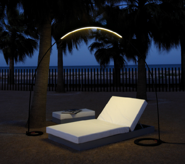 modernas lmparas led para jardines y terrazas halley