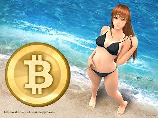 sexy bitcoin woman