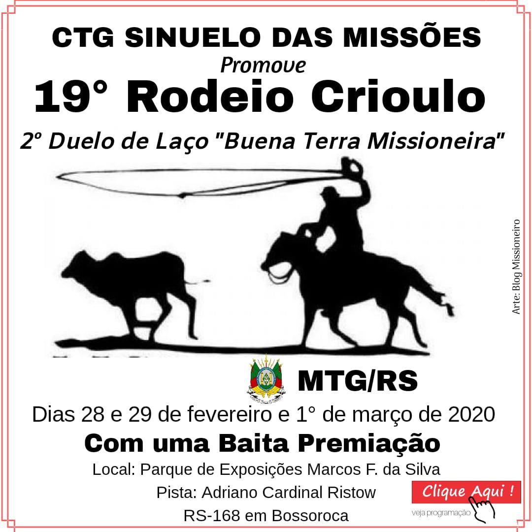19º Rodeio Crioulo em Bossoroca