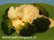 Brokolica a karfiol s tvarohovou majonézou - recept