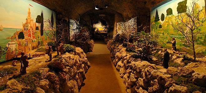 Presepe monumentale a Città della Pieve Perugia, Natale e mercatini in Umbria