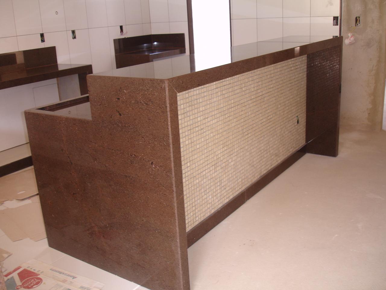 Mármores e Granitos Nacionais e Importados #40271F 1280x960 Banheiro Com Granito Marrom Imperial