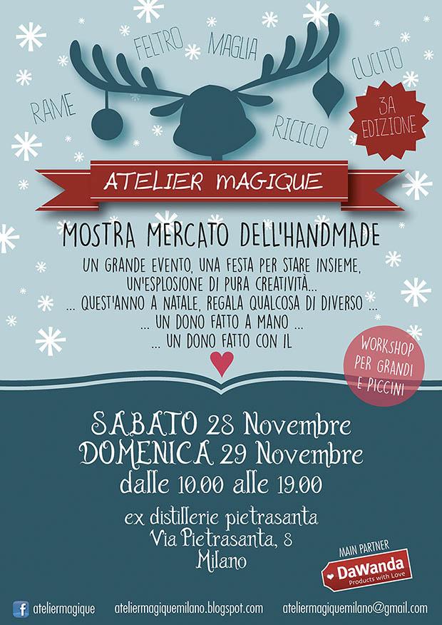 Locandina Atelier Magique Milano 2015