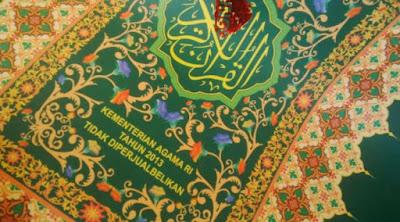 2,3 Ton Sampul Al Qur'an Bahan Terompet Diamankan