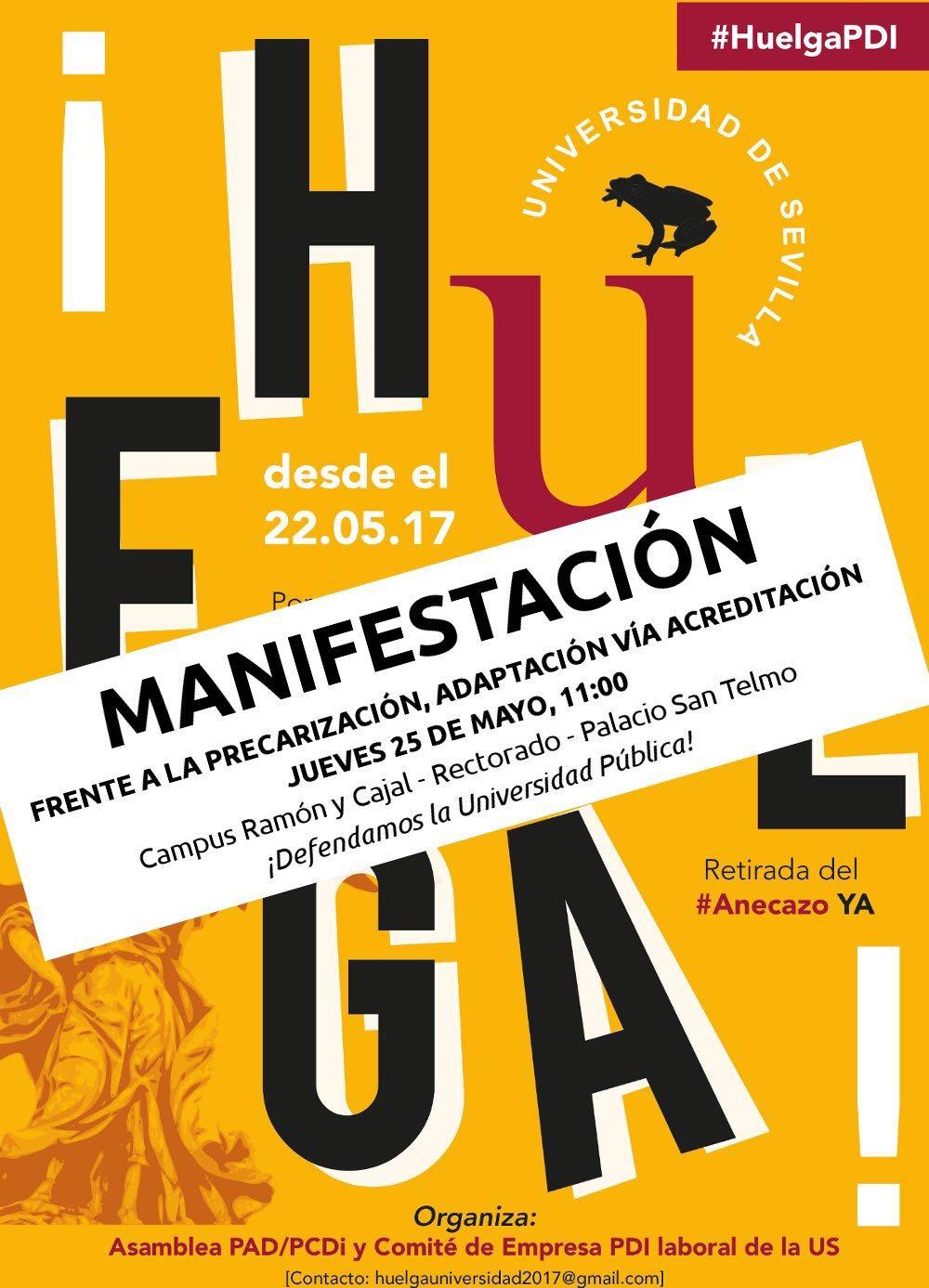 MANIFESTACIÓN: ¡DEFENDAMOS LA UNIVERSIDAD PÚBLICA!