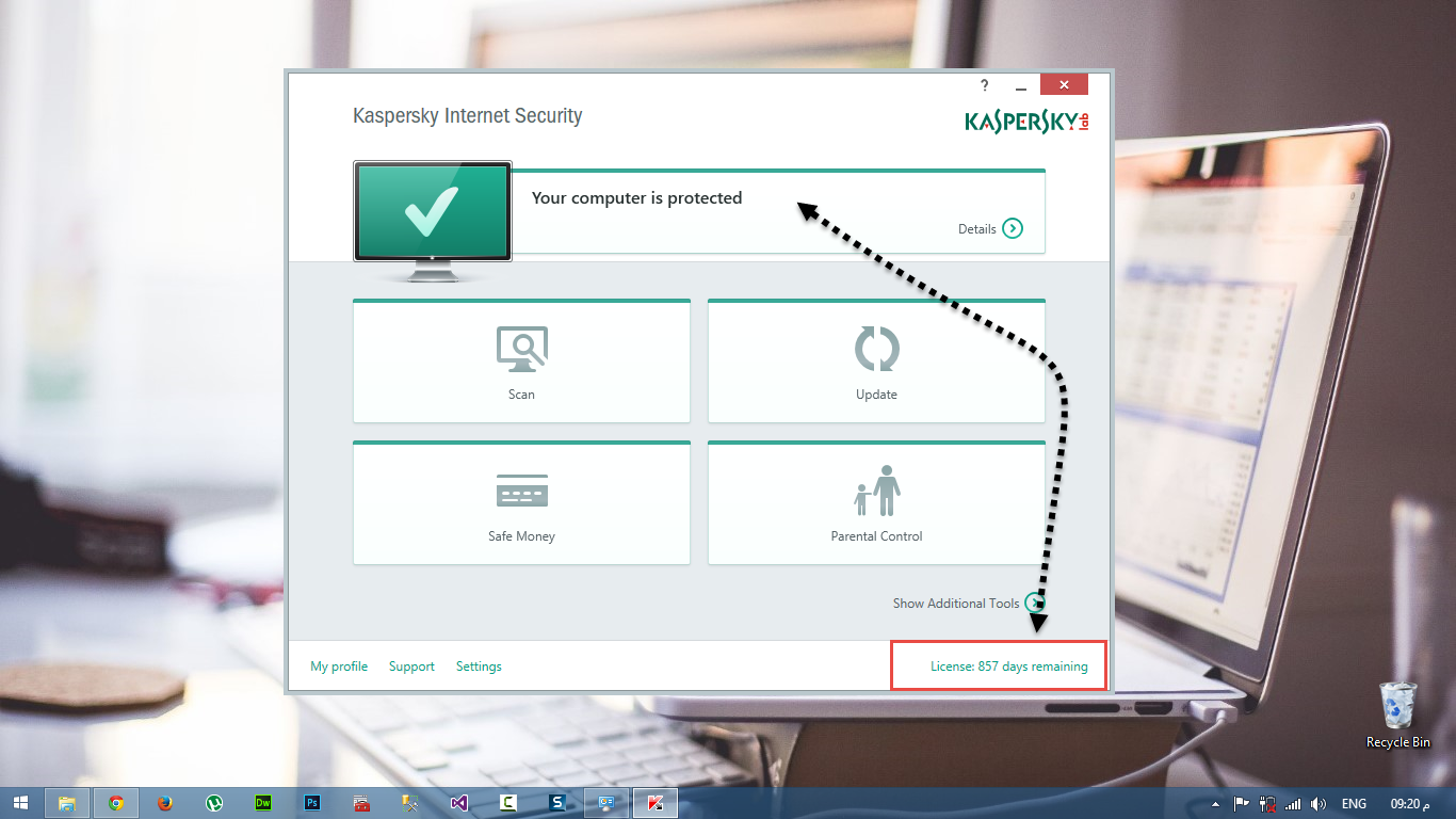 kaspersky internet security 2015 activation
