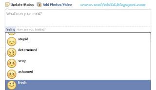 Fitur Update Status Facebook Terbaru
