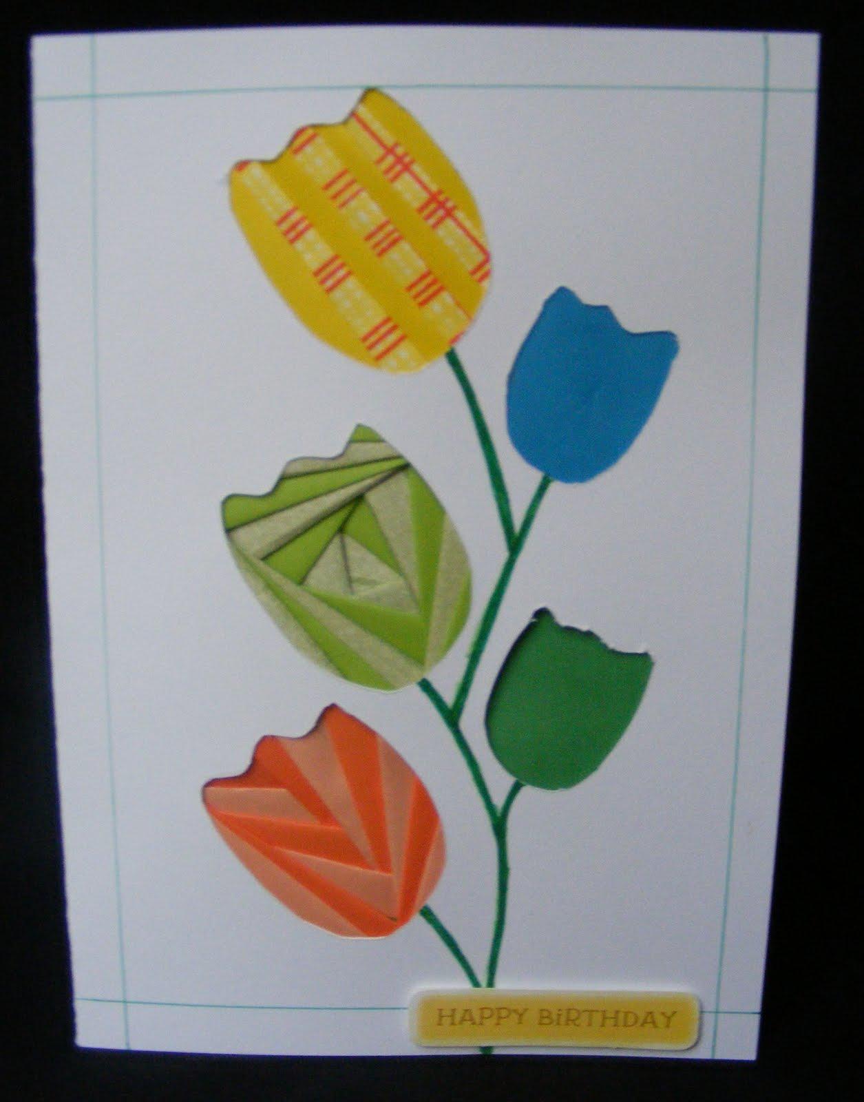Оригами. Тюльпан - Детские уроки 32