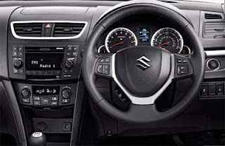 interior suzuki swift sport