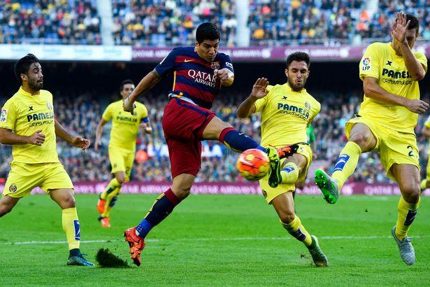 Hasil laga Barcelona 3-0 Villarreal