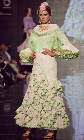 trajes de flamenca feria 2014
