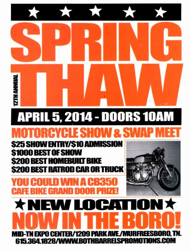 Spring Thaw Motorcycle Show & Swap Meet