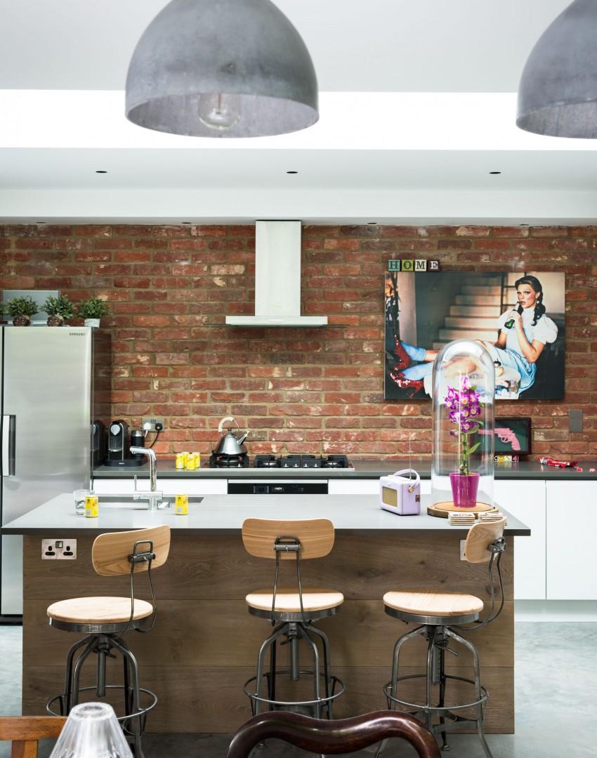 Decordemon Modern Industrial Home In London