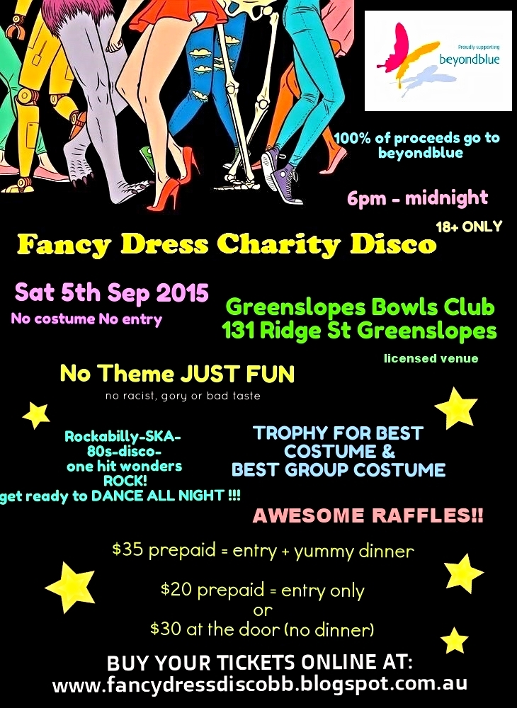 FANCY DRESS CHARITY DISCO