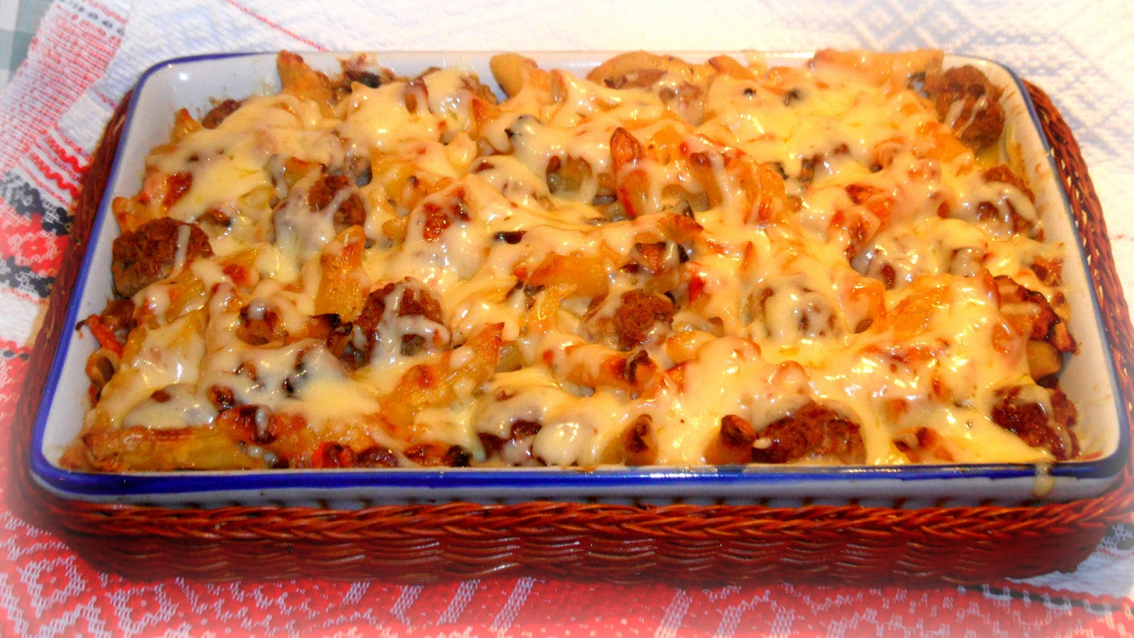 ... Capsule Cupboard: Pasta bake with Campbell's Cream of Mushroom soup