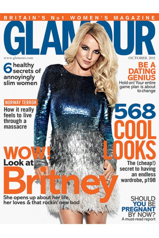 Britney Spears Spotted @ Glamour Magazine UK !