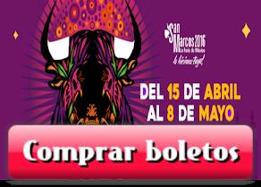 Boletos Feria San Marcos 2016