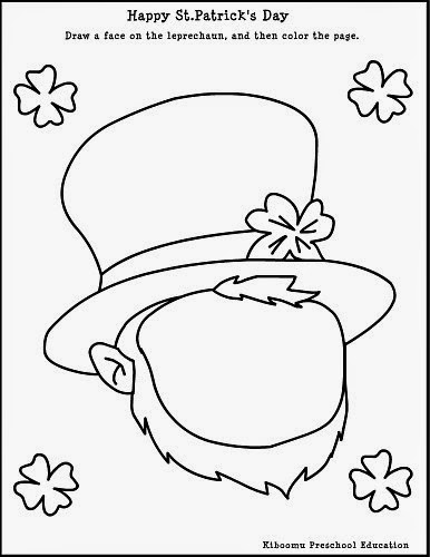o byrnes st patricks day coloring pages - photo #34