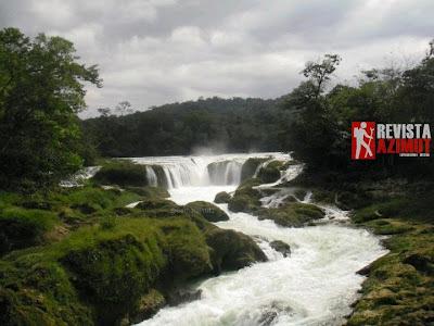 Cascada las Nubes, Chiapas.