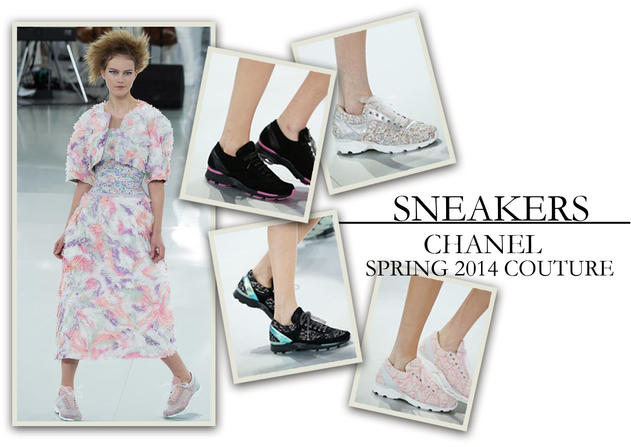 Sneakers at the Chanel Spring '14 Couture Show