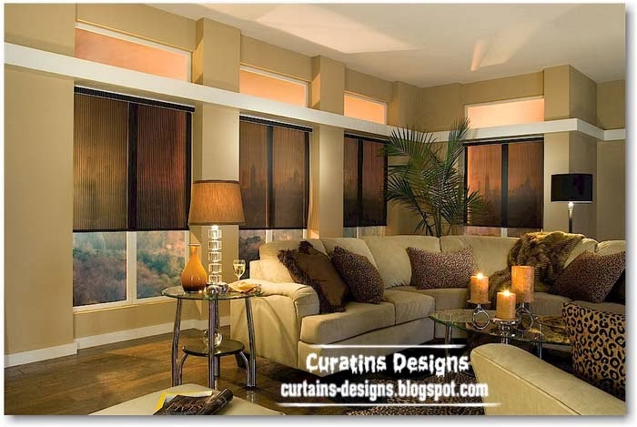 Interior Window Roller Shades : Roller blinds on the windows interiors designs ideas models