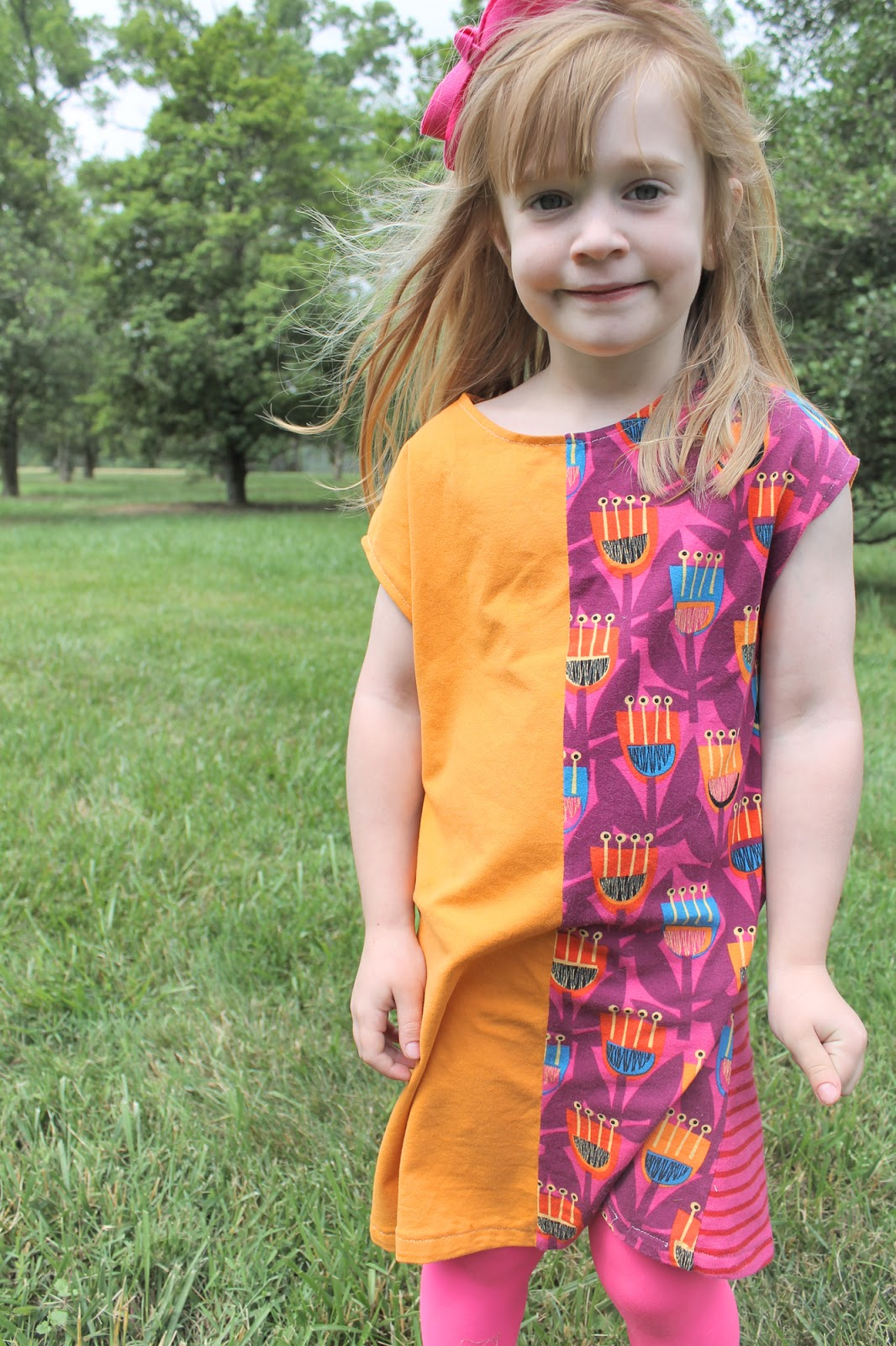 the tumble tee sewing pattern by imagine gnats