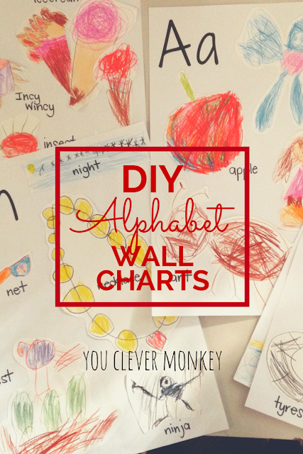 Add meaning to your classroom - make your own alphabet wall charts for display or turn the hand-drawn artwork into an alphabet book to share. Visit www.youclevermonkey.com
