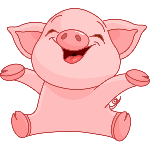 Happy Piggy Icon