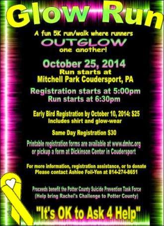 10-25 Glow Run Mitchell Park