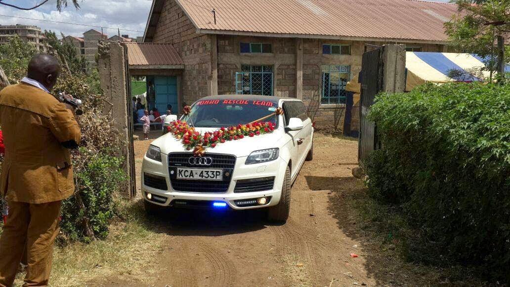 Sonko rescue team wedding