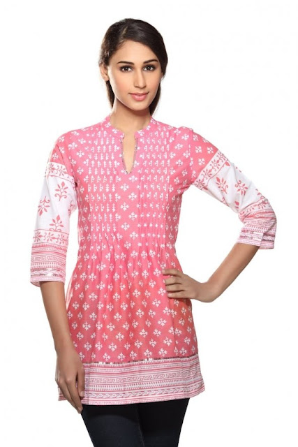 Pleated-Effect-Kurti