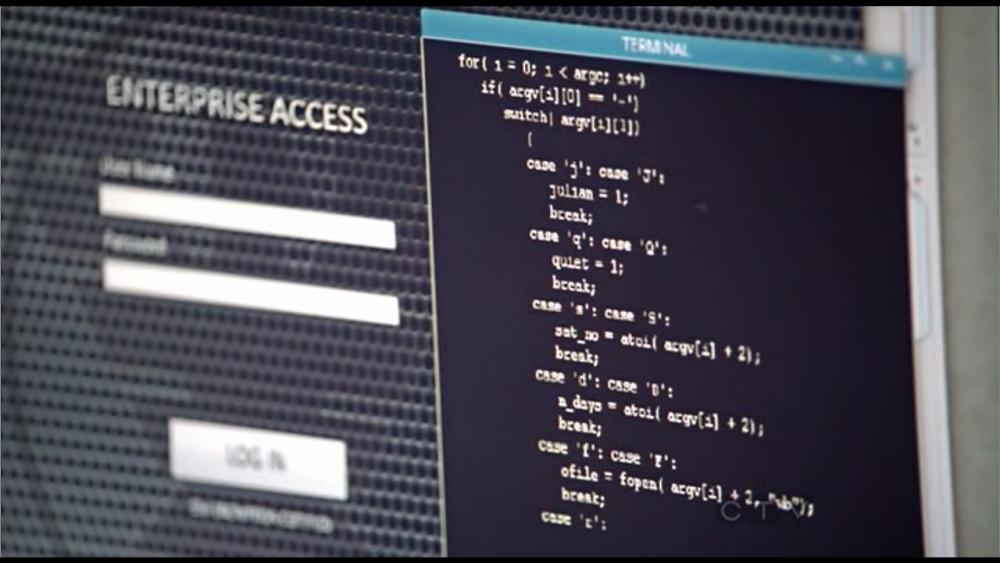 В сериале «Стрела» показан код, который рассчитывает положение лун Юпитера.