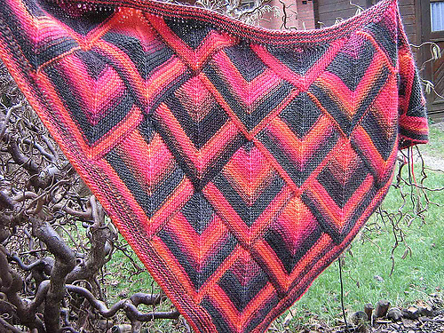 Mitered Knitting Patterns : Serenity Knits: Magical Miters