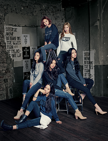 Pict dal shabet poses in jeans for new photoshoot pojok for Photoshoot ideas for groups