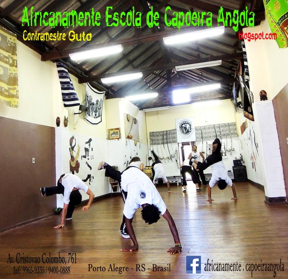 ÁFRICANAMENTE ESCOLA DE CAPOEIRA ANGOLA