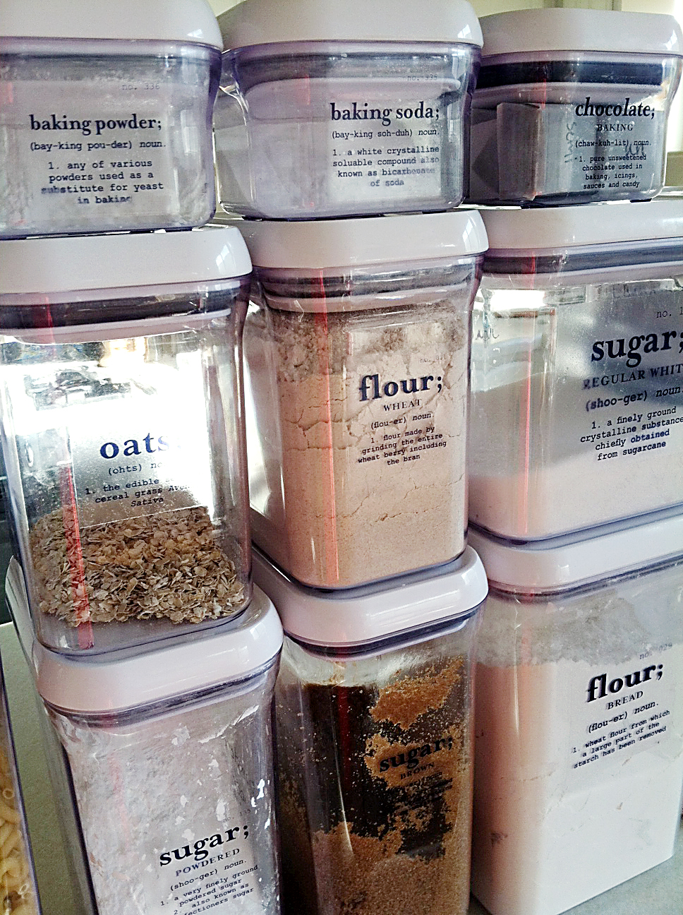 & The Sweeting Spot: Pantry labels (and download)