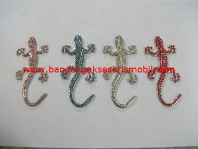 Emblem Cecak Besar Berlian 4 Colour
