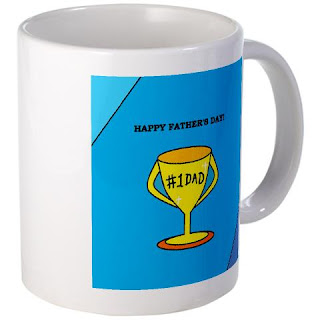Happy Father's Day No 1 Dad Mug