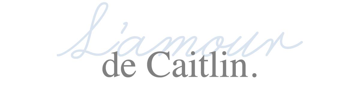L'amour de Caitlin