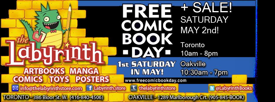 LABYRINTH BOOKS Toronto Comics MANGA and  GRAPHIC NOVELS - TORONTO