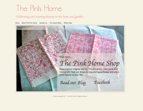 the pink home fresh look for a new year new year fresh look 550x428