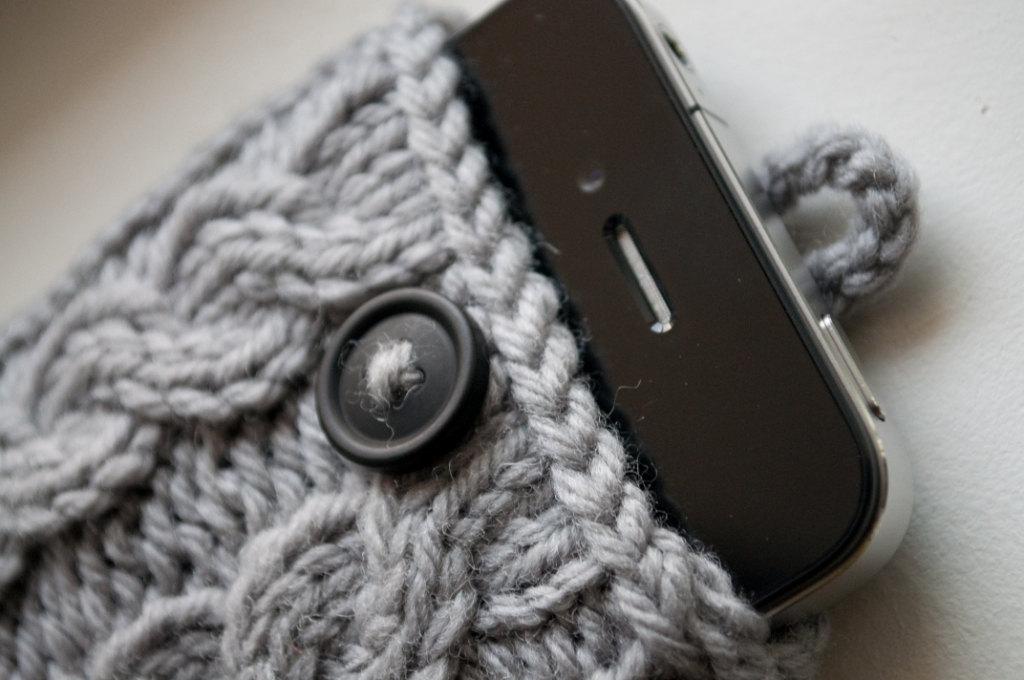 Kares Knitting Adventure My Iphone Case
