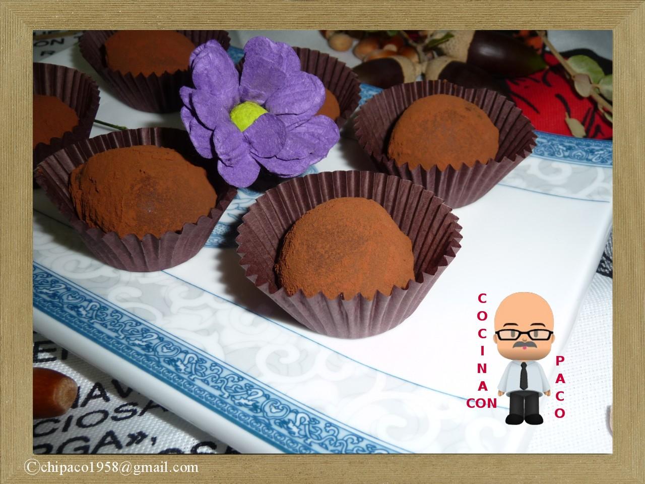 Cocina con paco trufas de chocolate - Cocina con paco ...
