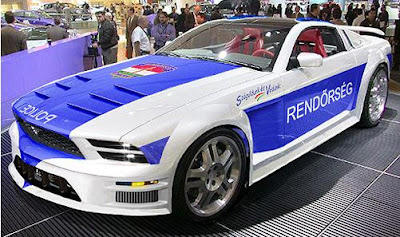 Mustang Police Car