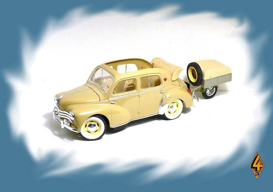 garage de poche jip u00e9  renault 4cv d u00e9couvrable 1954