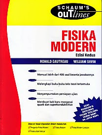 toko buku rahma: buku FISIKA MODERN EDISI KEDUA, pengarang ronals gautreau, penerbit erlangga
